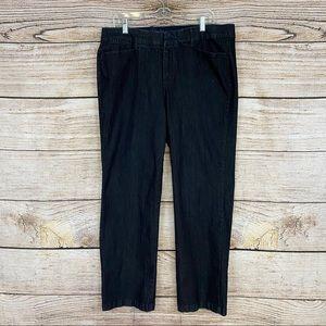 JM Collection Straight Leg Jean
